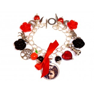 The Twilight Saga Themed Charm Bracelet