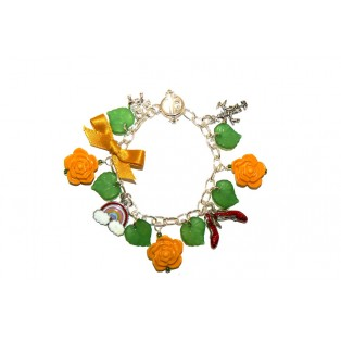 """Wizard of Oz"" Themed Charm Bracelet"