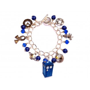 Dr Who Themed Charm Bracelet