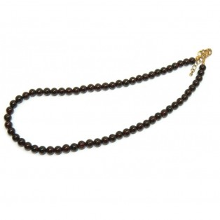 Stunning Deep Red Garnet Beaded Necklace