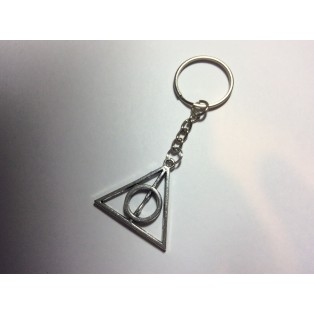 Harry Potter Deathly Hallows Triangle Key Ring
