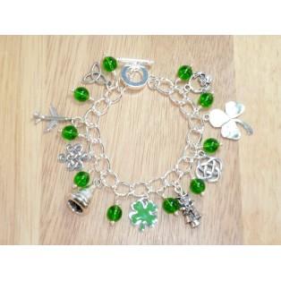 St Patrick's Charm Bracelet